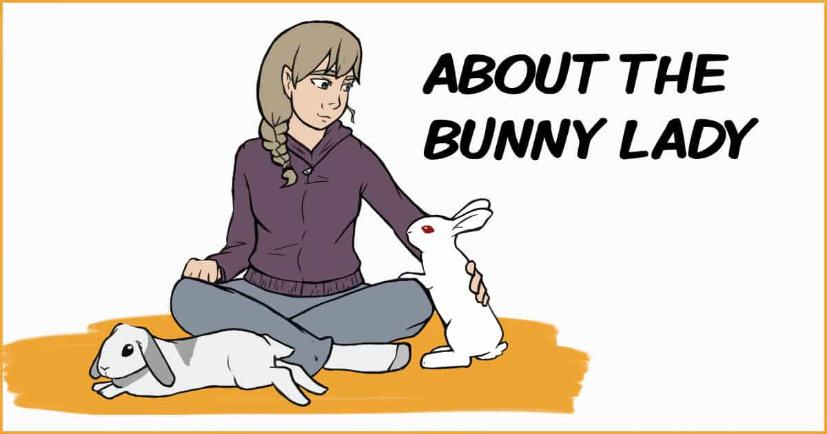 About the bunny lady