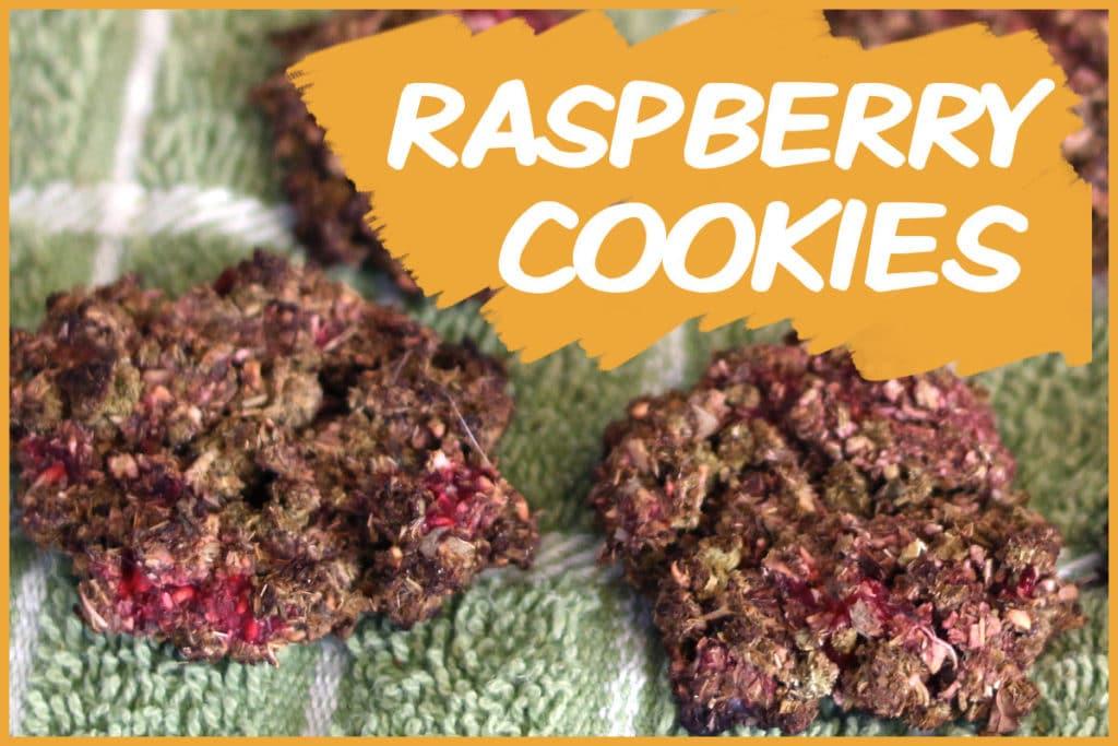 raspberry cookies