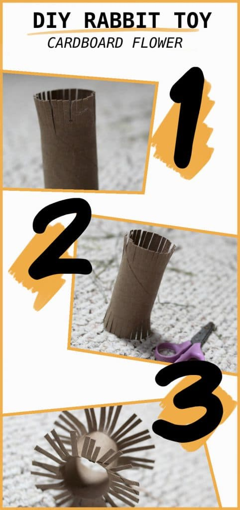 Cardboard Flower DIY Toy