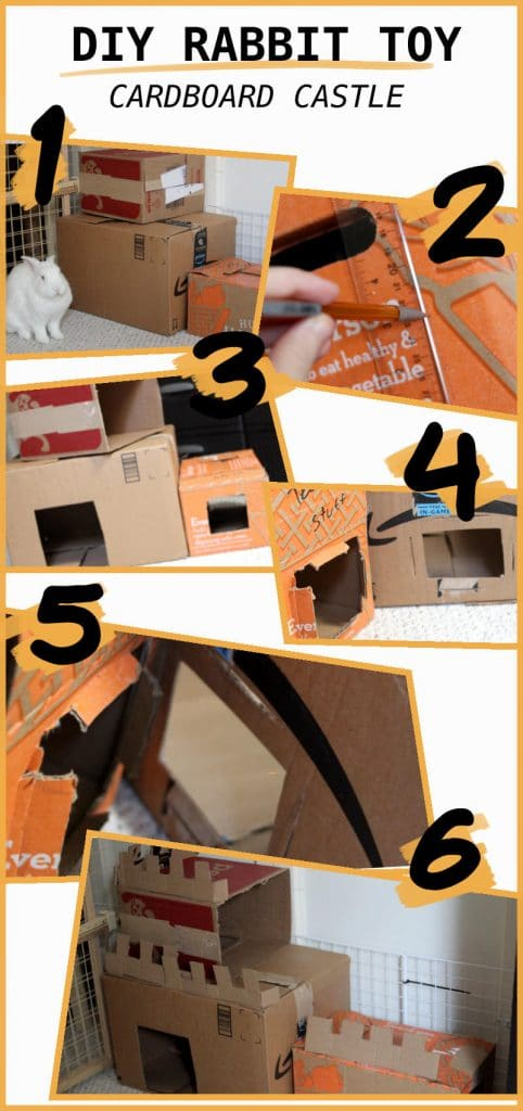 Cardboard Castle DIY Toy